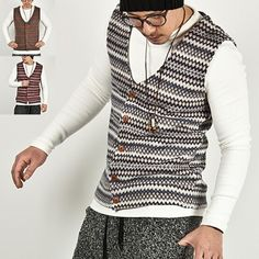 Outerwear - Colorful Bohemian Jacquard V-neck Vest - 29 for only 27.00 !!!