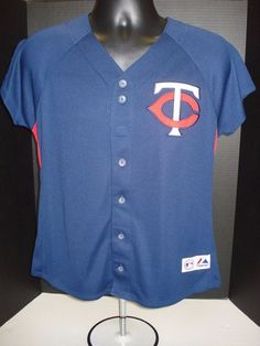 9afe65e6ecc Joe Mauer Minnesota Twins Womens Majestic Jersey - New With Tags! FREE  SHIPPING  Majestic