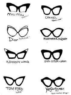 Designer glasses #illustration