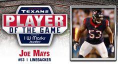 Regular Season Week 15: Joe Mays