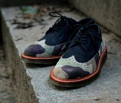 Fancy - Ronnie Fieg x Dr. Martens Camo Rivington Brogue
