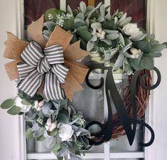 Christmas Wreaths For Front Door, Spring Door Wreaths, Halloween Wreaths, Winter Wreaths, Summer Wreath, Holiday Wreaths, Sunflower Burlap Wreaths, Floral Wreaths, Grapevine Wreath