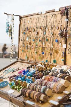 great vertical display    Handmade Saskatchewan is a member based community uniting local crafters/artisans and their customers. www.handmadesask.com
