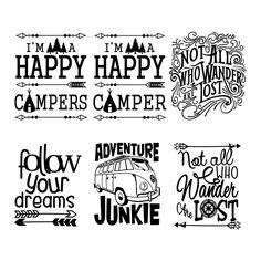Travel Adventure Svg Cuttable Designs