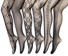 Frenchic Sexy Fishnet Lace Stocking Tights Extended Sizes (Pack of *** To view further for this item, visit the image link. (This is an affiliate link) Nylons, Pantyhose Outfits, Pantyhose Legs, Lace Tights, Fishnet Tights, Fishnet Stockings, Colored Tights, Patterned Tights, Cute Stockings