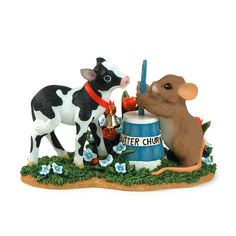 Summer on the Farm, Charming Tails figurines.
