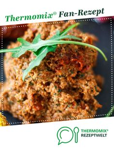 Rucola Aufstrich mega einfach und lecker von hb1964. Ein Thermomix ® Rezept aus der Kategorie Saucen/Dips/Brotaufstriche auf www.rezeptwelt.de, der Thermomix ® Community.