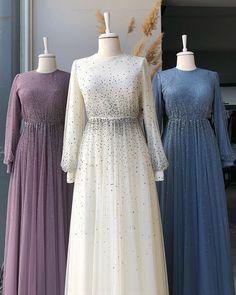 Stylish Dresses For Girls, Stylish Dress Designs, Modest Dresses, Pretty Dresses, Beautiful Dresses, Hijab Evening Dress, Hijab Dress Party, Mode Abaya, Fashion Dresses