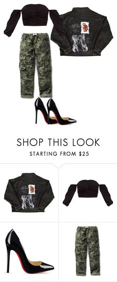 """Rubey"" by kyaneeee on Polyvore featuring Christian Louboutin"