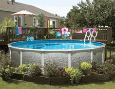 12x24 Pool With Deck Brothers 3 Pools Aboveground Semi