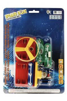 """Build the cool """"flying saucer"""" and its electronic launcher with this Brain Box Expansion Kit featuring additional pieces to add to your Brain Box collection. Science Supplies, Electronic Kits, Order Confirmation Email, Flying Saucer, The Wiz, The Expanse, Brain, Box, The Brain"""