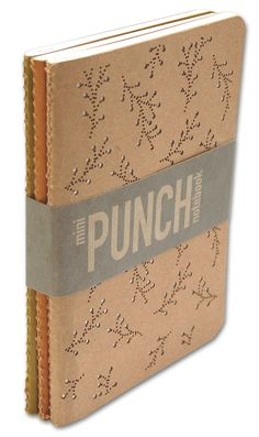 mini punch notebook set {from red stamp}