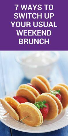 7 brunch food ideas