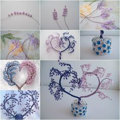 How to DIY Heart Shaped Beaded Decorative Tree | iCreativeIdeas.com Follow Us on Facebook --> https://www.facebook.com/icreativeideas