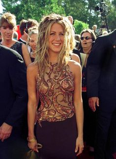 Dear Jennifer Aniston Please Don't Do the Rastafarian Look at the Emmys again this year | movie star style