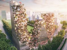 Gallery - MVRDV Designs 3-Tower Development for City of Amsterdam - 1