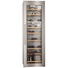 AEG SWD81800G1 - 178cm Integrated In Column Dual Zone Wine Cooler | Appliance City
