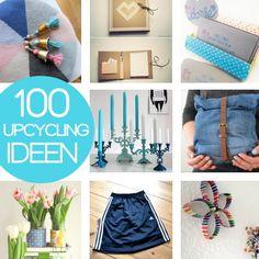 Nie wieder Langeweile! 100 Upcycling Ideen zum Nähen, Basteln und Dekorieren | DIYmode