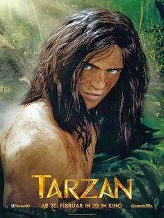 poster Tarzan Disney, Tarzan 3d, Disney S, Cinema, Conan, Comics, Movie Posters, Fictional Characters, Posters