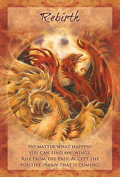 """Rebirth"" Magical Times Empowerment Cards par Jody Bergsma"