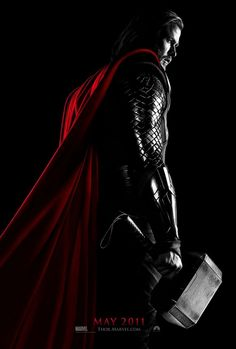 Thor in the movies is even more badass than Thor in the comics. And he's got a sense of humor, too, it seems.