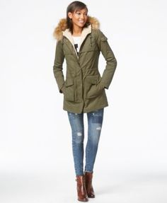 """I love coats. Any kind. but I don't have a """"let's go for a walk in the woods and still look fabulous and stay warm"""" anorak/parka... something more casual but not ski-jacket level!"""