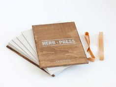HERB PRESS - wood leaves flowers and plants press for herbarium - HERB05