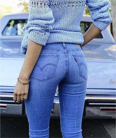 "The Wedgie fit has a high rise waist to accentuate it, a snug fit through the hips and the back pockets are tilted inward slightly. "" (Levi's® Gets Cheeky with New Wedgie Fit - Levi Strauss)"