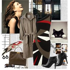 Anne Hathaway - Brown!, created by bklana on Polyvore