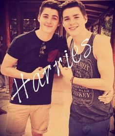 Jack and Finn Harries<3
