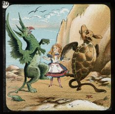 the conflicts and characters in lewis carolls alice in wonderland Today the exhibition alice: 150 years in wonderland opens at the morgan library and museum in new york the show includes the book's original manuscript, correspondences from author lewis carroll, vintage photographs of alice liddell (whom the book was inspired by), drawings and rare editions.