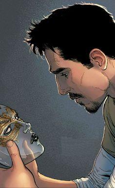 Tony Stark (AKA Iron Man) by David Marquez