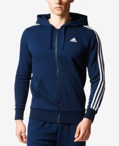 0465c6c837de8 adidas Men s Essential Fleece Zip Hoodie