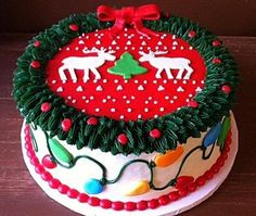 Tacky Christmas Sweater Cake - Makes me think of National Lampoon's Christmas by cheniy Tacky Christmas Party, Tacky Christmas Sweater, Christmas Sweets, Christmas Baking, Christmas Cookies, Xmas Desserts, Christmas Outfits, Christmas Vacation, Xmas Party