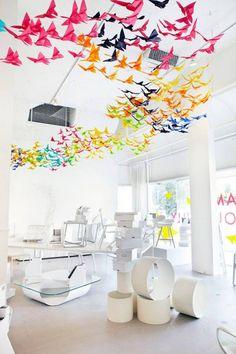 Bricoler des papillons de papier! Faites-en des décorations! - Trucs et Bricolages