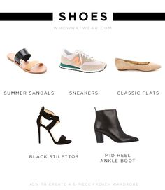 The shoes you need for your French wardrobe