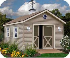 Best Barns South Dakota 12x12 Vinyl Siding Wood Shed Kit