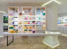 Oui Pharmacie by Marketing Jazz, Madrid - Spain. Visit City Lighting Products! https://www.linkedin.com/company/city-lighting-products