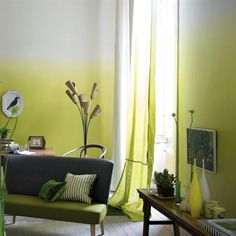 #Yellow ombre wallpaper