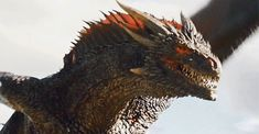 Ranking 'Game of Thrones' 21 Greatest Payoffs So Far Drogon Game Of Thrones, Game Of Thrones Books, Game Of Thrones Series, Game Of Thrones Dragons, Got Dragons, Mother Of Dragons, Fantasy Creatures, Mythical Creatures, Life Comics