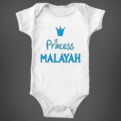Frozen Princess Malayah Baby Girl Name