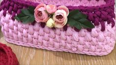 Penye sepet yeni model 6 ( new model basket ) combed cotton rope Crochet Bowl, Easy Crochet, Holiday Crochet Patterns, Bunny Templates, Crochet Backpack, Crochet Videos, Cotton Rope, Crochet Scarves, Basket Weaving