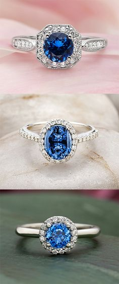 Explore our collection of unique, sapphire engagement rings now!