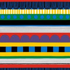 Marimekko: Ryijy fabric