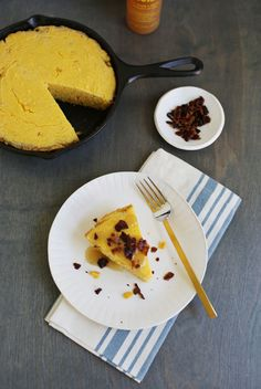 Cornbread with bacon glaze (via abeautifulmess.com)