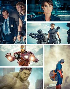Avengers Photoset Part 2