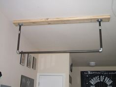 How to make your own pull-up bar - The Cathe Nation