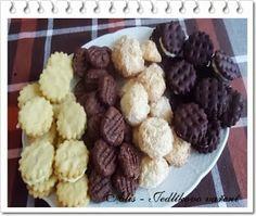 Vanilkové sušenky s lemon curd Lemon Curd, Cereal, Breakfast, Food, Morning Coffee, Lemon Custard, Lemon Cream, Meals, Corn Flakes