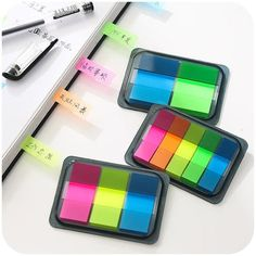 5 Set, DIY New Cute Kawaii Colored Memo pad Lovely Sticky Paper Post it Note School Office Supplies Korean Stationery Free shipping