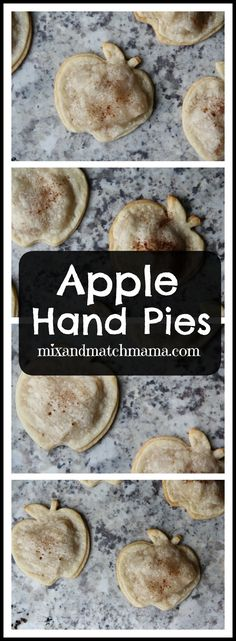 Apple Hand Pies | Mix and Match Mama